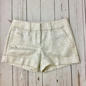 New York and Co. Cuffed Shorts Rear Pockets